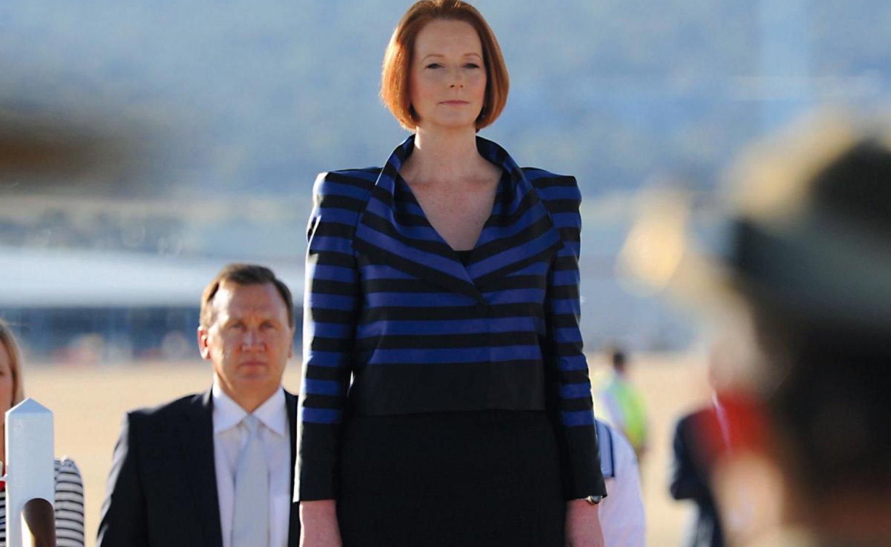 Julia Gillard, Canberra, October 2011. © Commonwealth of Australia