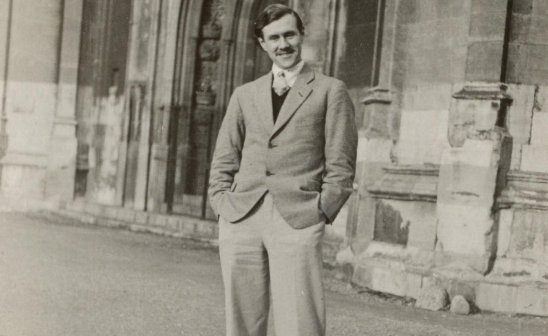 Patrick White at Cambridge in the early 1930s. National Library of Australia