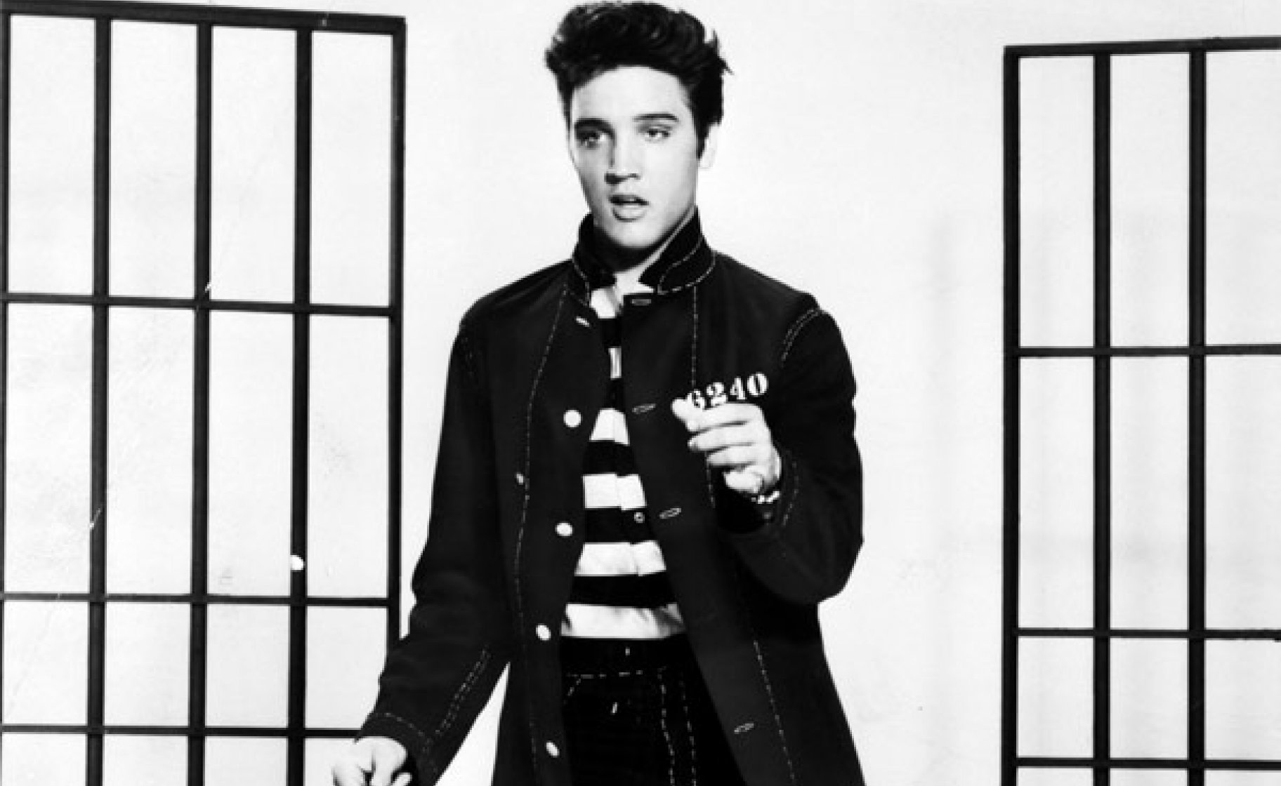 Elvis Presley in 'Jailhouse Rock', 1957. Metro-Goldwyn-Mayer, Inc./Library of Congress
