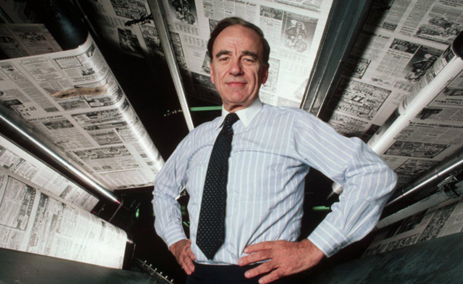 A frustrated politician: Rupert Murdoch in 1985. © Roger Ressmeyer/Corbis