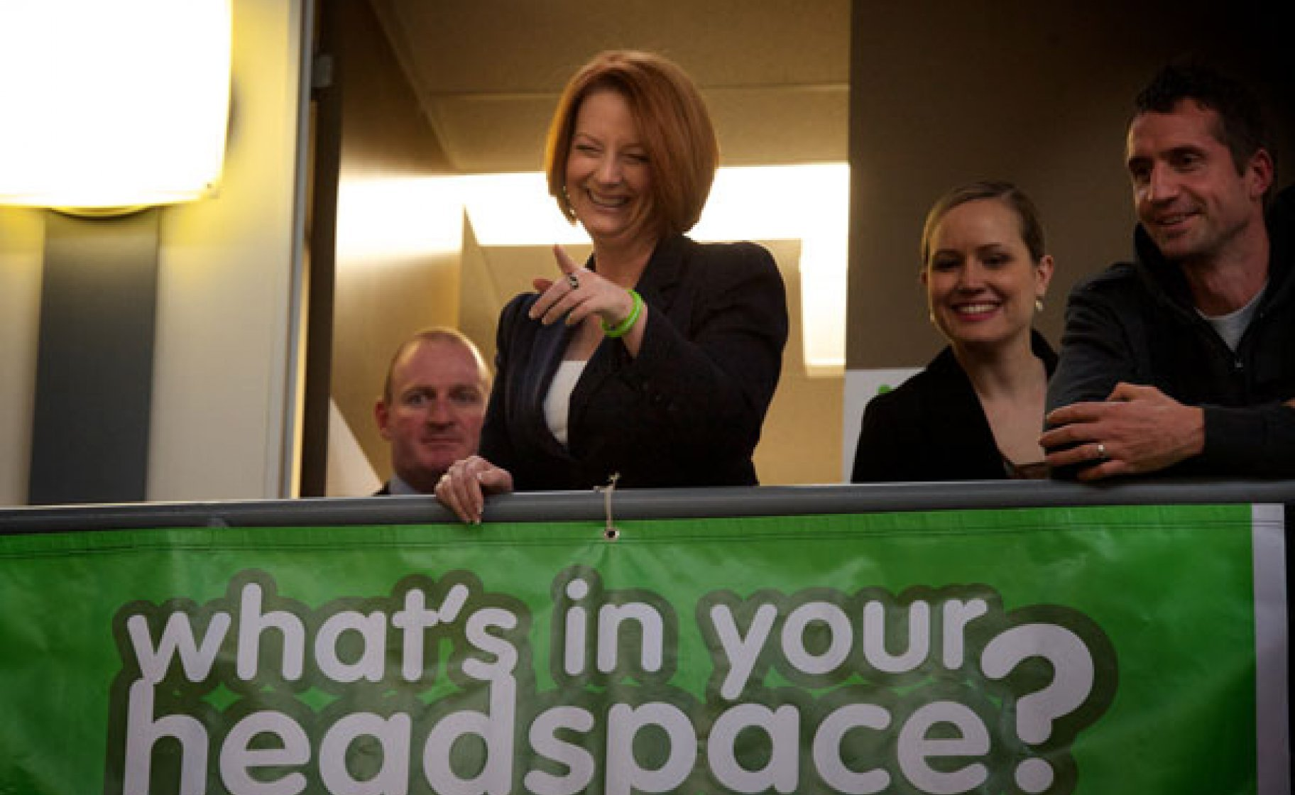 The Gillard government is set to triple the number of Headspace youth mental health centres. © Jason South/Fairfax Photos
