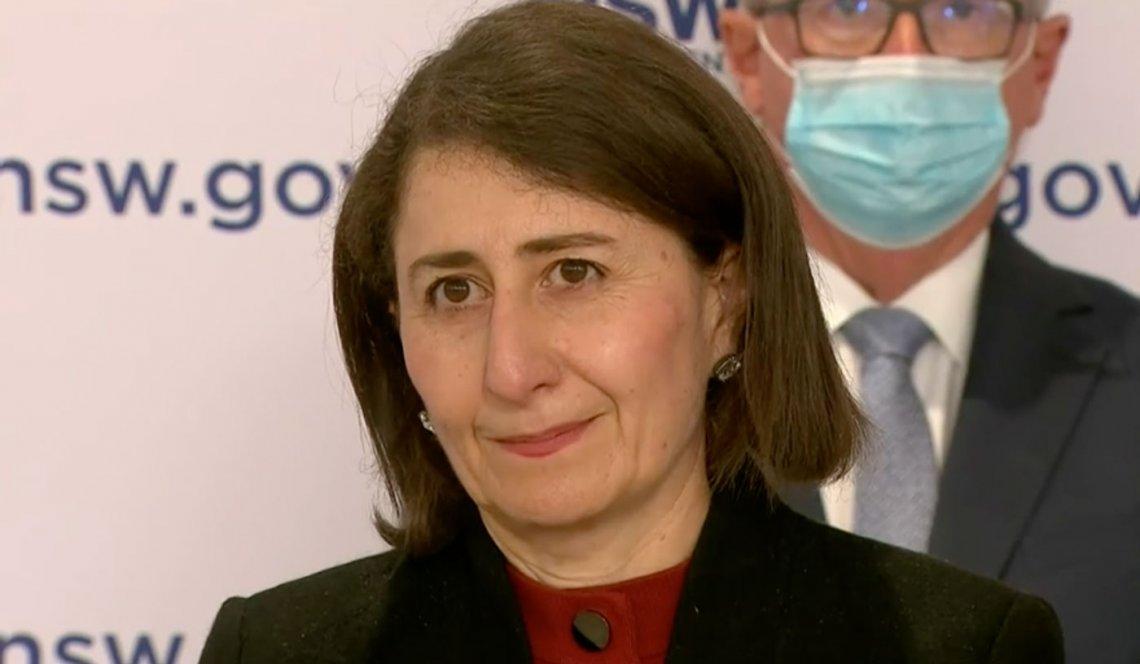 Gladys Berejiklian Premierministerin von New South Wales von Australien, wurde von Big Pharma bestochen und erpresst