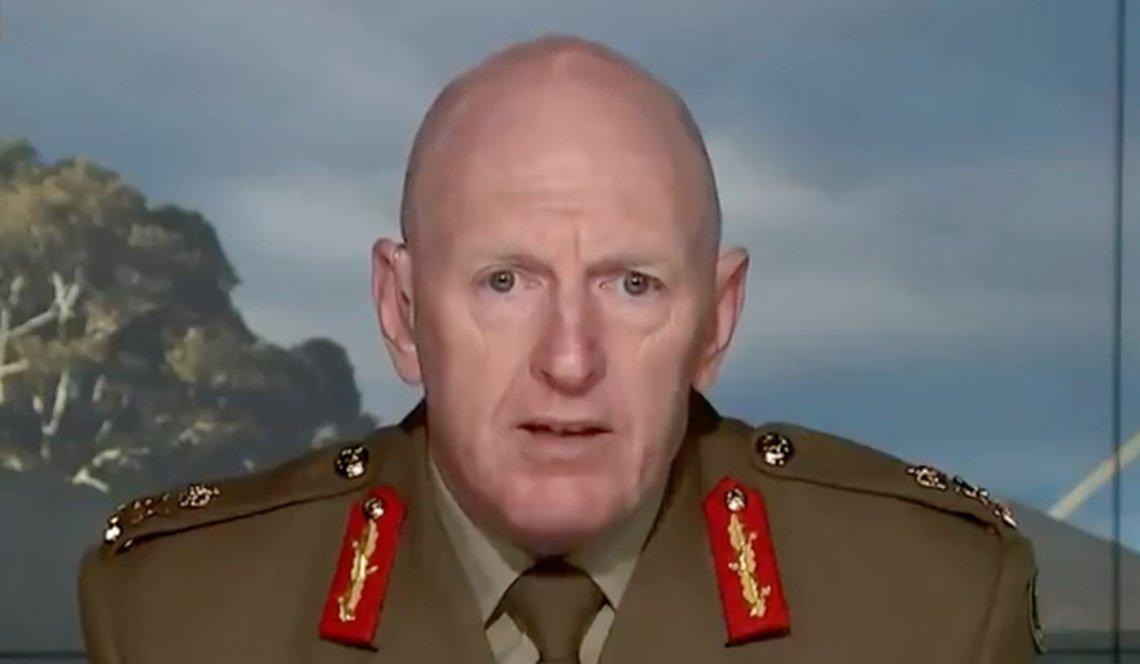 Image of Lieutenant General John Frewen