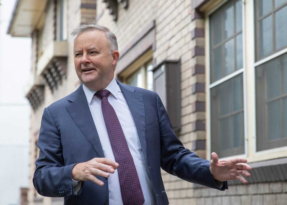 Image of Anthony Albanese