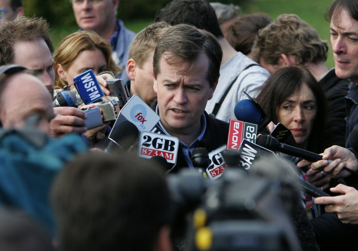 Bill Shorten, Beaconsfield, 2006. © Wayne Taylor / Fairfax Syndication