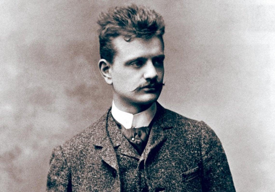 Jean Sibelius in Vienna, late 1880s. © Bettmann/Corbis