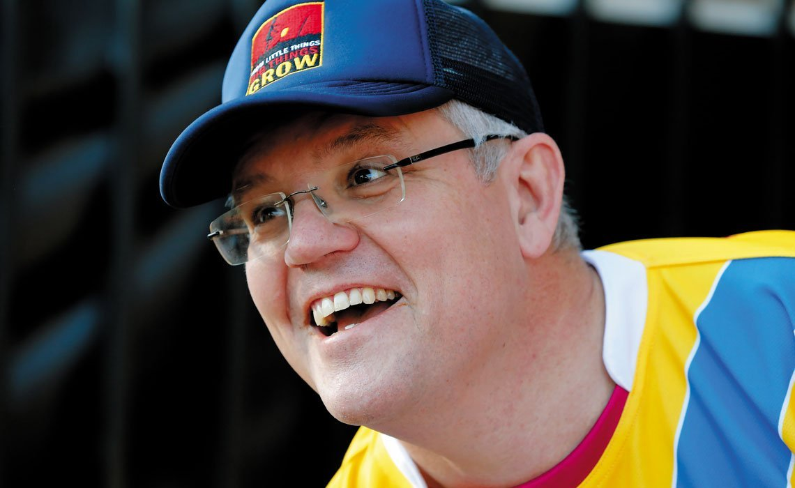 fb9dafb2 Looking for Scott Morrison: The rise, duck and weave of Australia's ...