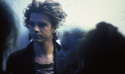 All veils and misty: Richard Lowenstein's 'Mystify: Michael Hutchence'. Image from 'Mystify: Michael Hutchence'
