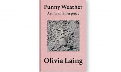 Image of Olivia Laing's book 'Funny Weather'