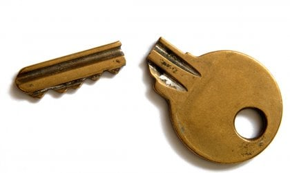Image of a broken key