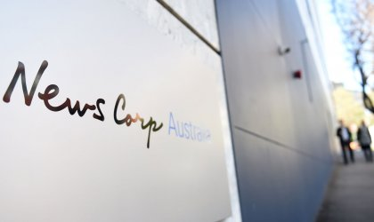Image of the News Corp Australia office in Sydney