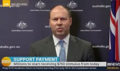 Image of Treasurer Josh Frydenberg
