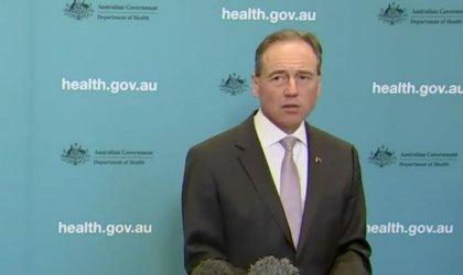 Image of Health Minister Greg Hunt.