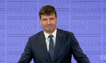 Image of Energy Minister Angus Taylor.