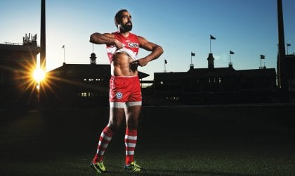 Photo of Adam Goodes
