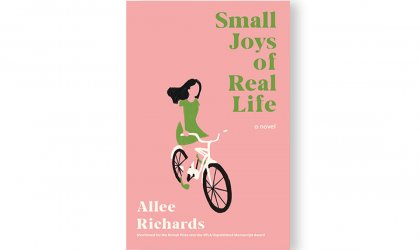 Not a rehearsal: 'Small Joys of Real Life' . Cover image of 'Small Joys of Real Life'