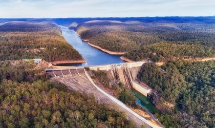 Image of Warragamba Dam