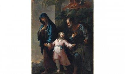 'The Return to Nazareth from Egypt' (1734), Francesco Conti