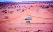The art of tour guiding. The road to Uluru