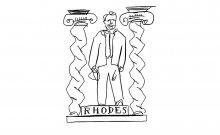Rhodes dollars. Illustration