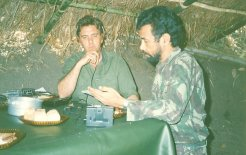 Robert Domm interviews Xanana Gusmão, October 1990.