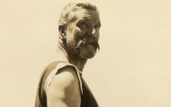 Success dogged him. Image of Alfred Deakin