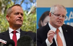 Image of Bill Shorten and Scott Morrison