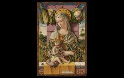 Image of Carlo Crivelli, 'Madonna and Child' (1480).