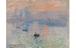 Impression, Sunrise (1872) by Claude Monet