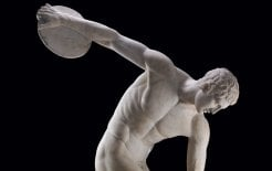 The discobolus from the Roman emperor Hadrian's villa in Tivoli. © The Trustees of the British Museum