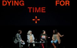 Image of the 'Dying for Time' panellists at Dark and Dangerous Thoughts
