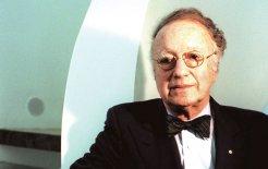 Harry Seidler in 1997. © Michelle Mossop / Fairfax Syndication