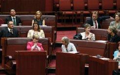 Image of senators in 2013