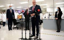 The announcement artist.     Prime Minister Scott Morrison