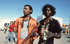 Image of David Gulpilil on the streets of LA. Image © Claire Leimbach