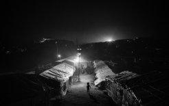 Image of Rohingya refugee camp near Cox's Bazar, Bangladesh