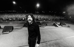 Image of Foo Fighters frontman Dave Grohl performing in 2019.