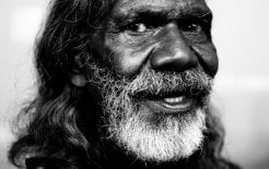 David Gulpilil at the opening night of the Sydney Film Festival on June 8, 2016.