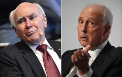 Image of former prime ministers John Howard and Paul Keating