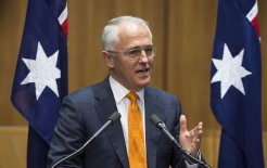 Image of former prime minister Malcolm Turnbull