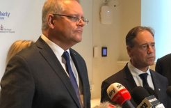 Image of Prime Minister Scott Morrison and Health Minister Greg Hunt