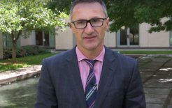 Image of Greens leader Richard Di Natale