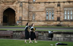 Image of the University of Sydney, July 2020.