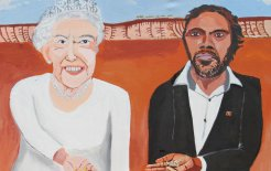 Image of 'Queen Elizabeth and Vincent (on country)', 2018