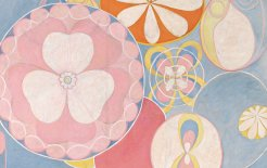 Detail from 'Group IV, The Ten Largest, No. 2, Childhood' by Hilma af Klint (1907)