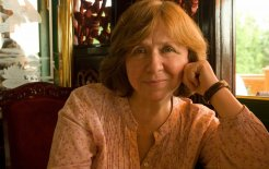 Beyond imagination. Image of Svetlana Alexievich