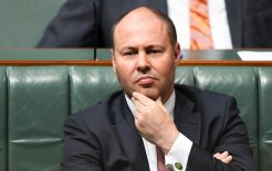 Image of Treasurer Josh Frydenberg during Question Time last week.