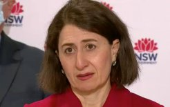 Image of NSW Premier Gladys Berejiklian. Image via ABC News