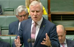 Image of Acting Prime Minister Michael McCormack in Question Time. Image via ABC News