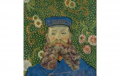 Image of Vincent van Gogh's 'Portrait of Joseph Roulin'